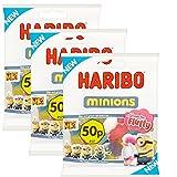 Haribo Minions 3 Beutel Kevin Stuart Bob UK-Import von Junior Toys