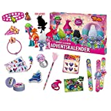 Craze 53998 - Adventskalender DreamWorks Trolls, Sortiert, Bunt
