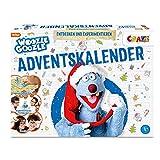 CRAZE Adventskalender WOOZLE GOOZLE 2021 Kinder Experimente für Kinder ab 8 mit Figuren Spielzeug Weihnachtskalender Geschenke für Mädchen & Jungen 24683