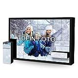 PhotoFancy Adventskalender mit 24 Schachteln zum selbst befüllen – mit eigenem Foto bedruckt – XL Format 61,9 x 40,5 x 5 cm