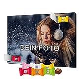 PhotoFancy - Foto Adventskalender mit hochwertiger Ritter Sport Schokolade in 6 Sorten - mit eigenem Bild Bedruckt