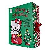 accentra Adventskalender Hello Kitty 2021 für Mädchen, gefüllt mit Beauty-, Bade-, Pflege- und Accessoires-Produkten - für eine entspannte Adventszeit