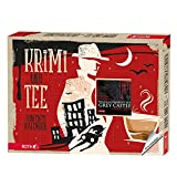 ROTH Krimi + Bio Tee Adventskalender 2021 Sammleredition gefüllt mit hochwertigen Teesorten und Krimi-Buch, Krimi & Teebeutel Kalender für den Advent