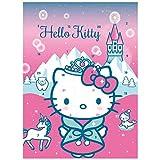 Adventskalender mit Milchschokolade HELLO KITTY (2 Motive / 75 Gramm) MOTIV FREI WÄHLBAR (HELLO KITTY - WINTER WONDERLAND)