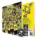 Adventskalender, Weihnachtskalender deines Bundesliga Lieblingsvereins 2021 - Plus gratis Sticker & Lesezeichen Wir Lieben Fußball (Dortmund)
