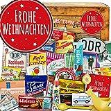 Frohe Weihnachten | DDR Advent Kalender |DDR Produkte | Kultartikel der DDR in 24 Türchen | weihnachtlich verpackt mit Ostmotiven