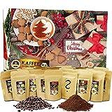 C&T Kaffee Adventskalender 2021 (Ganze Bohnen)   24 à 20g Bio Kaffees & fair gehandelte Raritäten + Überraschung im Kalender   Weihnachtskalender Fairtrade