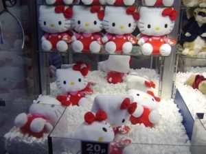 Viele Hello Kitty