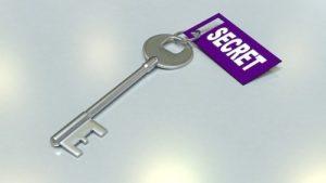 Geheimnisvoller Schlüssel