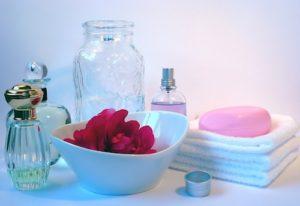 Seife Handtücher