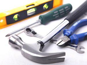 Unterschiedliches Werkzeug