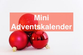 Mini Adventskalender
